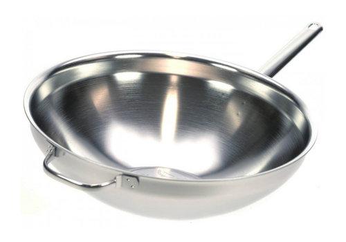 Demeyere Wok met steel 36 cm