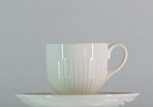 Wedgwood Mokka- / Espressokop en schotel  Edme
