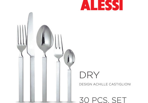 Alessi Set bestekken 30-delig Dry