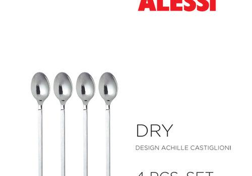 Alessi Set 4 espressolepels  Dry