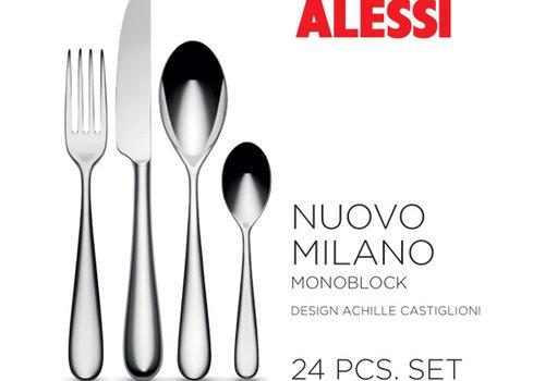 Alessi Set 24-delig Nuovo Milano monobloc
