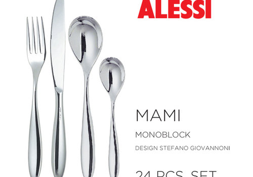 Alessi Set 24-delig  Mami monobloc