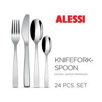 Set 24-delig Alessi Knife Fork Spoon