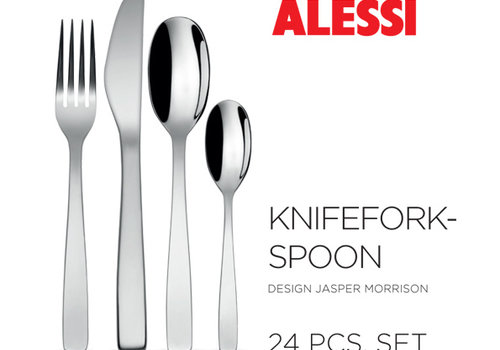 Alessi Set 24-delig Knife Fork Spoon