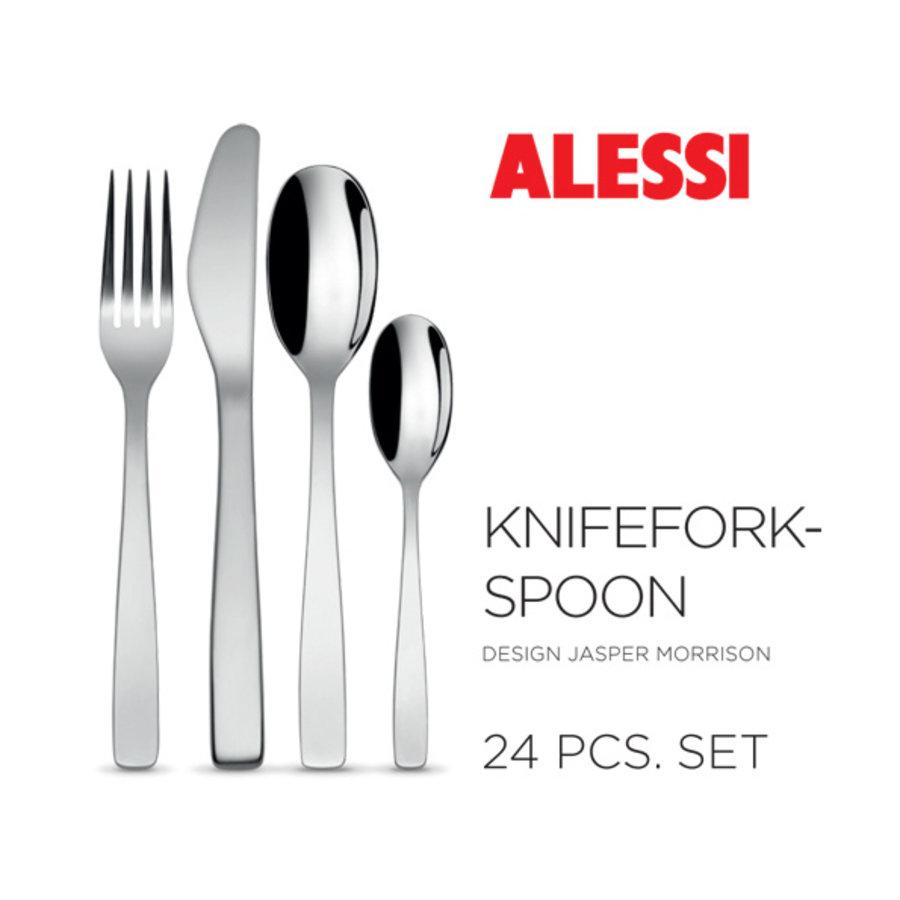 Set 24-delig Alessi Knife Fork Spoon-1