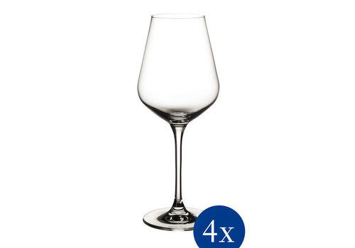 Villeroy & Boch Set van 4 witte wijnglazen La Divina 38 cl 227 mm