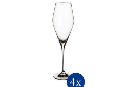 Villeroy & Boch Set van 4 champagnefluten La Divina 26 cl 252 mm