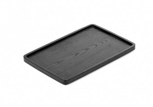 Serax Dienblad zwart essenhout 30x20 cm - Vincent Van Duysen