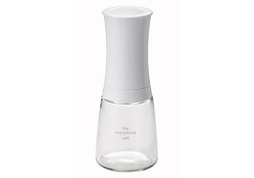Kyocera Pepermolen / zoutmolen / kruidenmolen  wit 16 cm