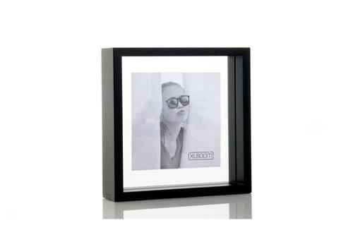 XLBOOM Fotokader / floating box 20x20 cm zwart