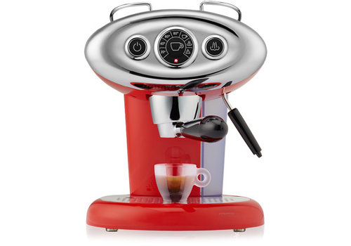 Illy Espressoapparaat rood X7.1
