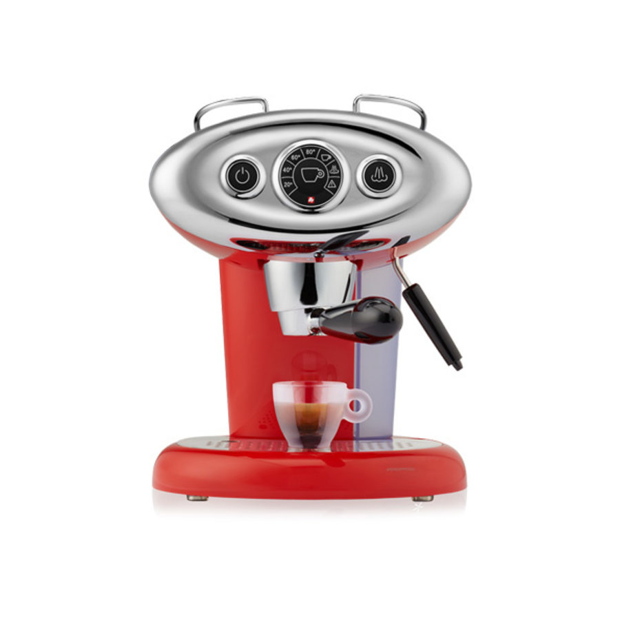 Espressoapparaat rood X7.1-1