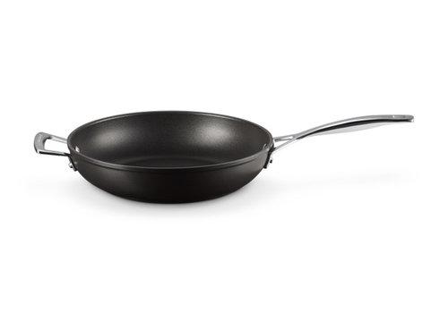 Le Creuset Sauteerpan Anti-Aanbak 28 cm met steel