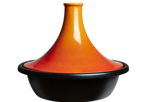 Le Creuset Tajine oranjerood volcanique 31 cm 3.7 liter