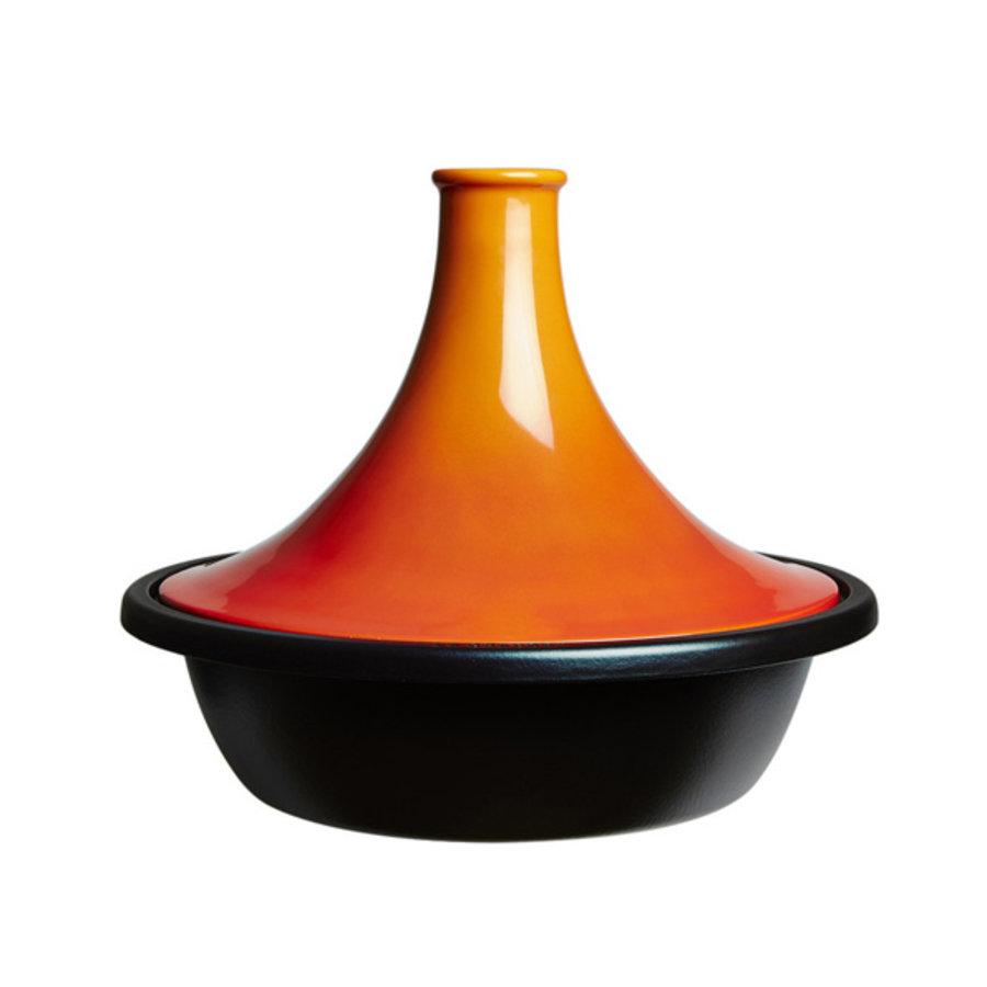 Tajine oranjerood volcanique  31 cm 3,7 liter-1