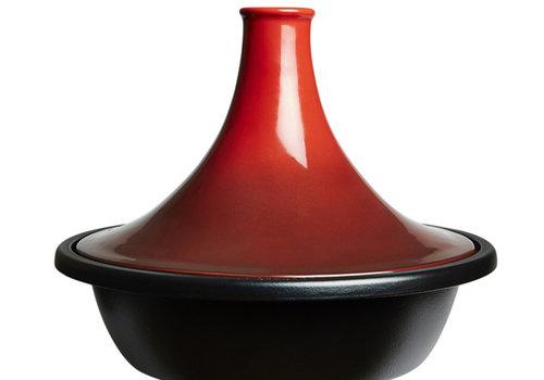 Le Creuset Tajine rood 35 cm 5.2 liter