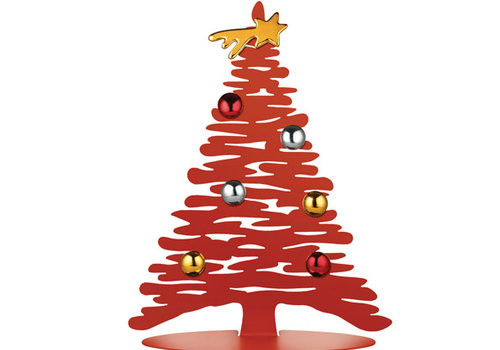 Alessi Kerstboom rood 30 cm