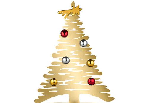 Alessi Kerstboom goudkleurig  30 cm