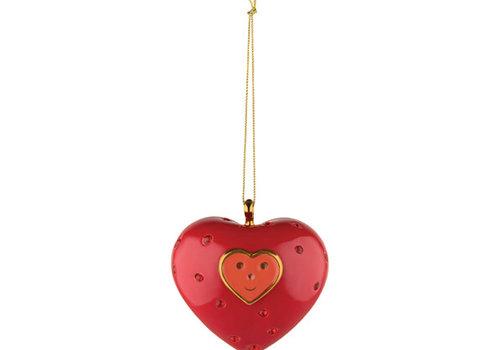 Alessi Ornament porselein - Cuore e cuora