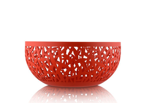 Alessi Fruitschaal rood  21 cm Cactus