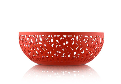 Alessi Fruitschaal rood 29 cm Cactus