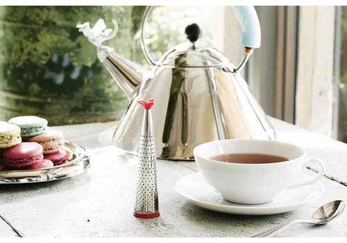 Alessi Theebuiltje / Thee infuser Michael Graves rvs