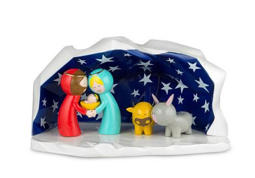 Alessi Kerststal porselein - Kerstdecoratie