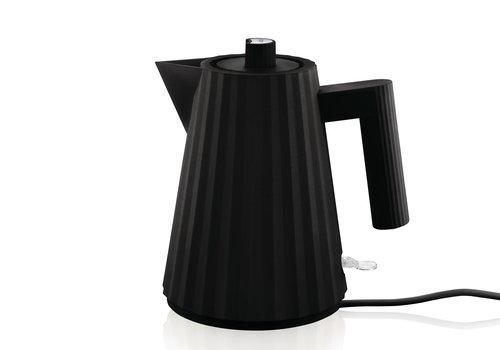 Alessi Waterkoker zwart 1 liter Plissé