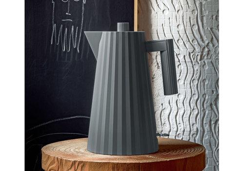 Alessi Waterkoker grijs 1,7 liter Plissé