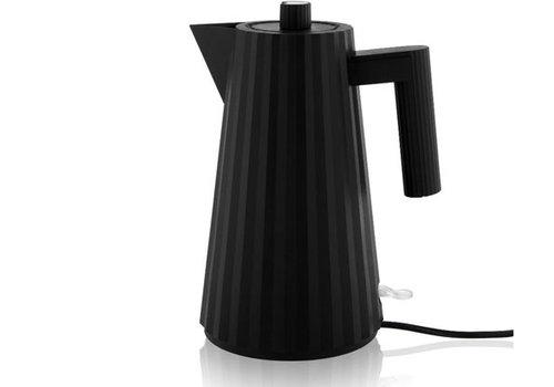 Alessi Waterkoker zwart 1,7 liter Plissé