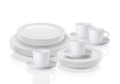 Arzberg Set 20-delig voor 4 personen Cucina wit