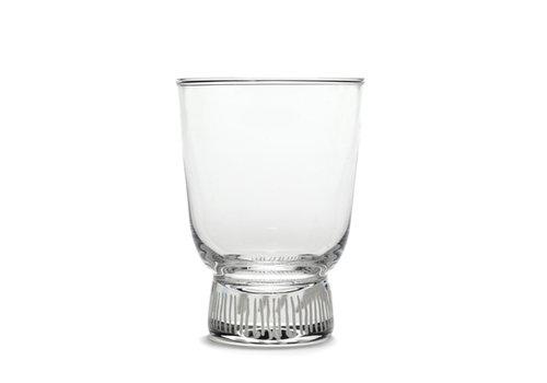 Serax Glas Feast Stripes Ottolenghi 25 cl gezandstraald