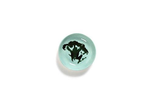 Serax Bordje 11.5 cm Feast Ottolenghi brocolli azuur met groen