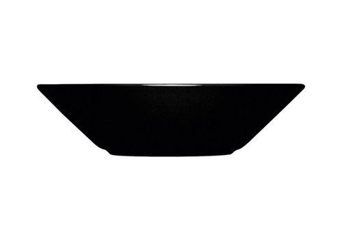 Iittala Diep bord Teema zwart 21 cm