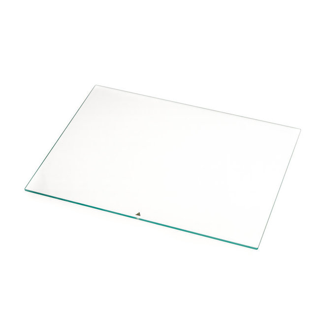 Ultimaker S5 Print Table Glass With Warning Stickers (#206717)