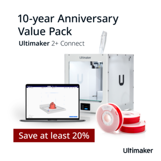 Ultimaker Ultimaker 2+ Connect  Anniversary Value Pack