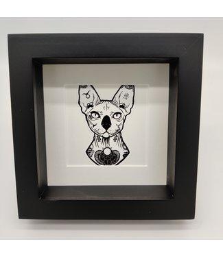 Print in frame