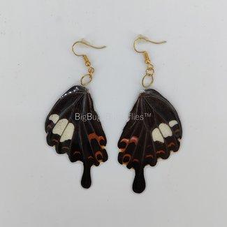 Vlindervleugel oorbellen