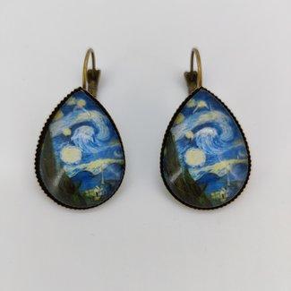 Earrings The Starry Night
