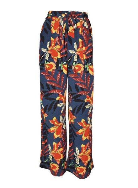 YCOO Pantalon Fleur | Marine