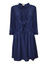 YCOO Robe Satin Look | Bleu Nuit