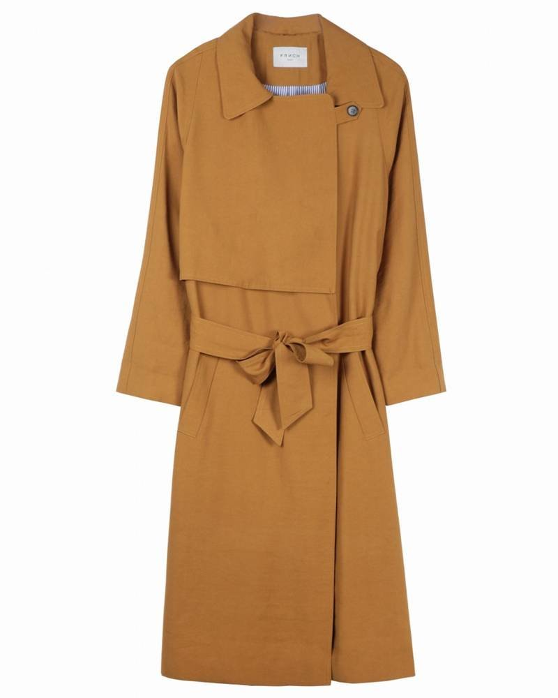 FRNCH Trench Serena | Ocre Brun