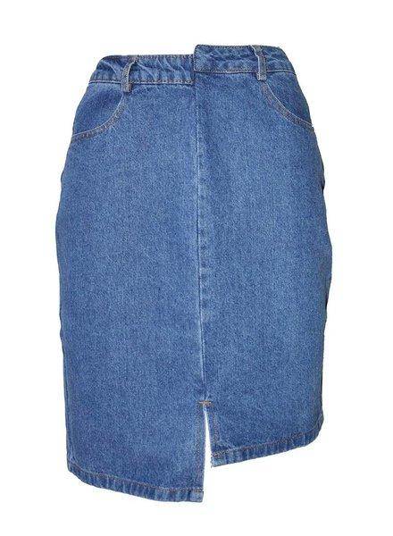 Daphnea Jeans Jupe | Bleu
