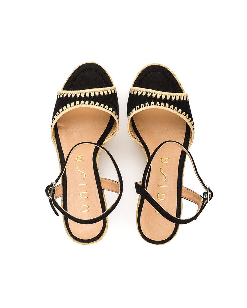 Unisa Unisa Mallorca Sandale | Noir