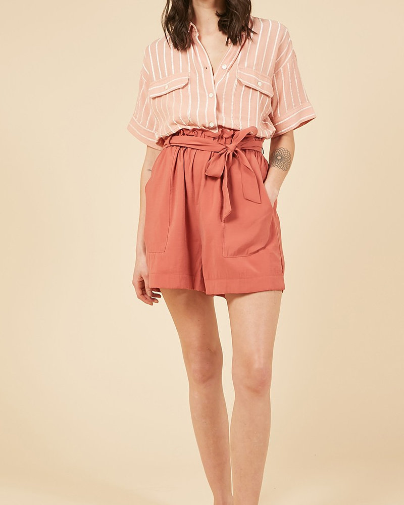 FRNCH Short Daphnee | Brique