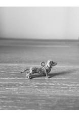 Handmade by Hanneke Weigel Sterling silver dachshund rough hair