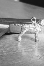 Handmade by Hanneke Weigel Zilveren Labrador retriever