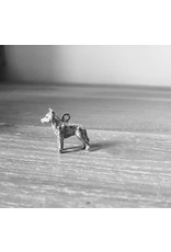 Handmade by Hanneke Weigel Sterling silver Wolf