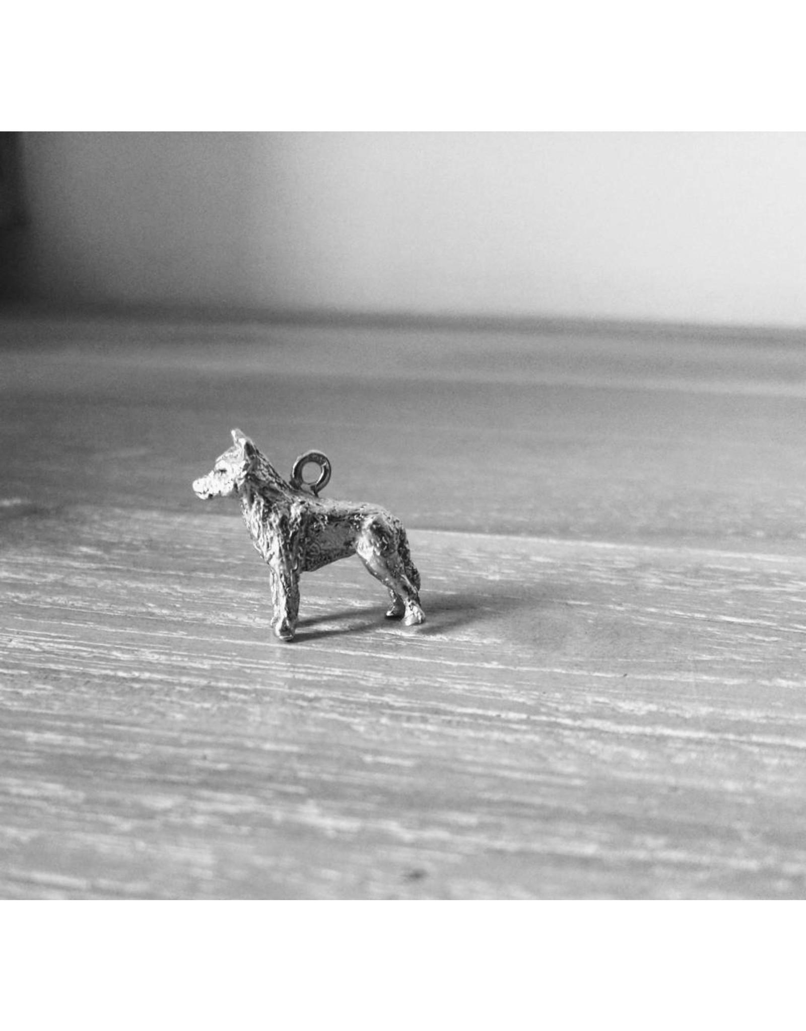 Handmade by Hanneke Weigel Zilveren Wolf