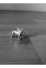 Handmade by Hanneke Weigel Zilveren Rottweiler